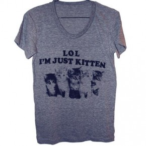 Currently coveting: Just Kitten tee