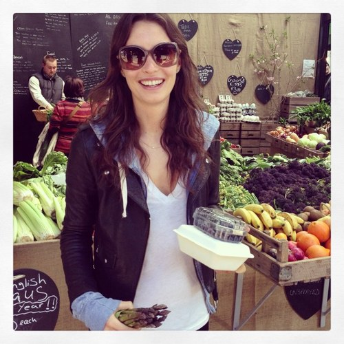 The lovely Ella of Deliciously Ella fame