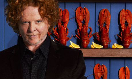 If there was a lobster and Mick Hucknall sanwhich, I'd probably have eaten that.