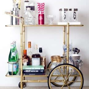 Currently Coveting: Vintage Drinks Trolley