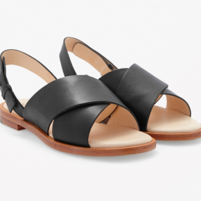 Currently Coveting: Cos crossed leather sandals