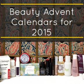 Beauty Advent Calendars for 2015