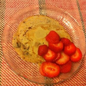 Sugar Free Chocolate Chip Pancakes