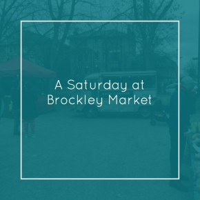 Saturday at Brockley Market